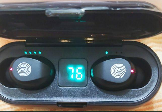 Блютус наушники TWS F9, беспроводные наушники, гарнитура