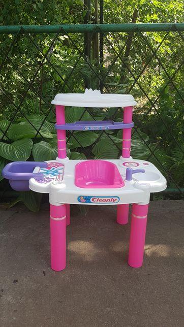 Мебель Кукольный столик для купания и кормления