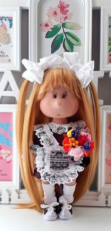 Кукла - Школьница ручной работы