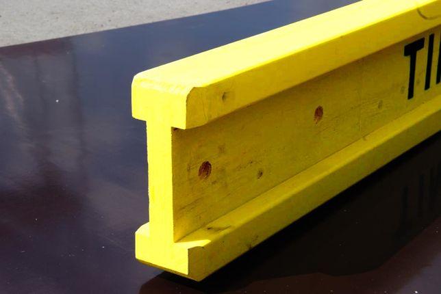Dźwigar drewniany budowlany doka legar Nieokuty H20 belki szalunki