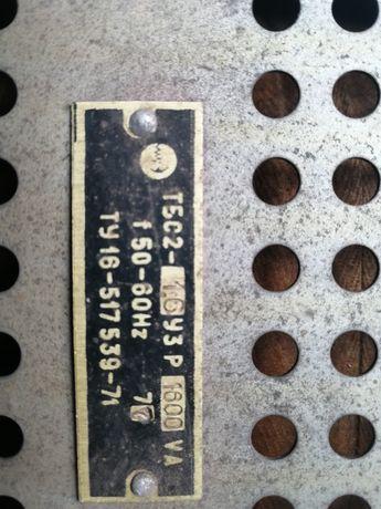Трансформатор ТБС 1,6