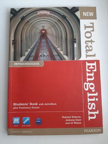 Продам Total English Intermediate, Student's book + Workbook + CD
