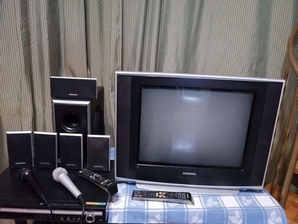 Домашнее кинотеатр+проигрователь Samsung