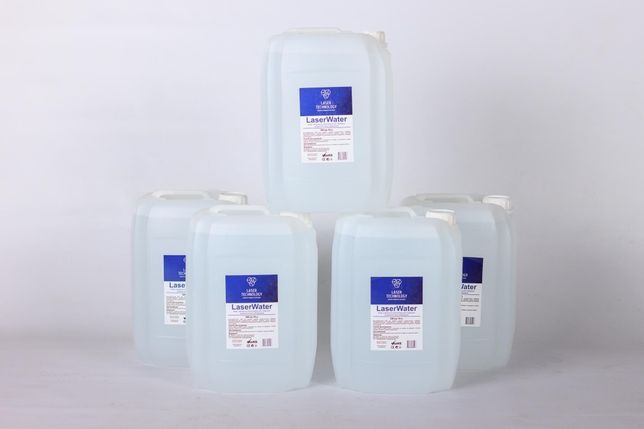Деионизированная вода 10 литров для диодных лазеров
