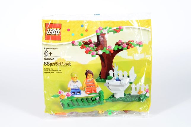 LEGO Seasonal 40052 Springtime Scene Polybag 2013 NOWY