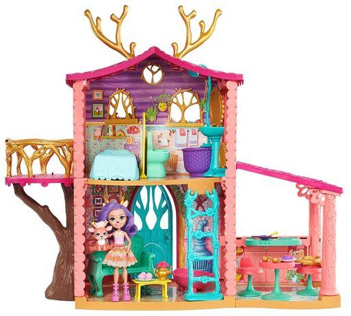 Enchantimals Cozy Deer House Playset Danessa Deer Энчантималс дом олен