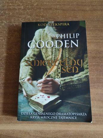 "Książka kryminał ""śmiertelny sen"" Philip Gooden"