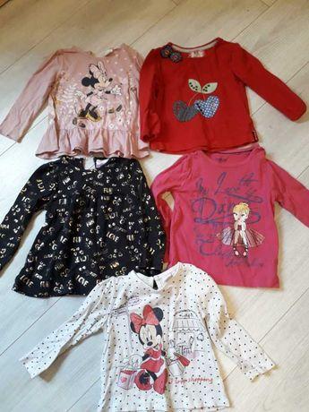 Bluzeczki dla dziewczynki 86r