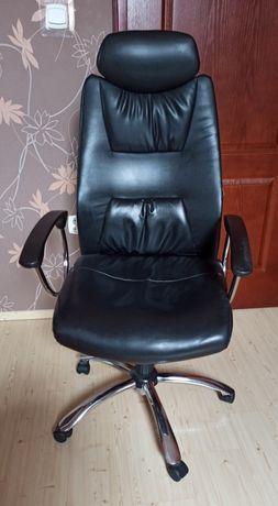 Fotel biurowy obrotowy z eko skóry