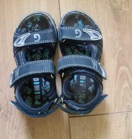 Primigi sandałki dla chłopca rozmiar 27 Sandały ze skóry