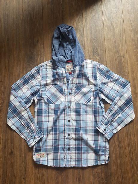 Nowa koszula z kapturem 164cm