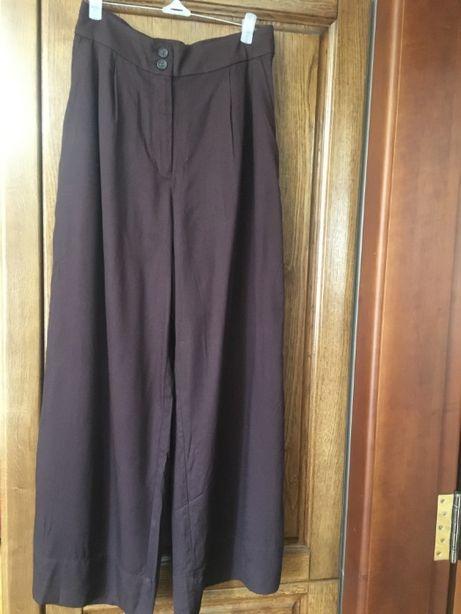 Широкие брюки/юбка-брюки/кюлоты с высокой талией от H&M EUR36