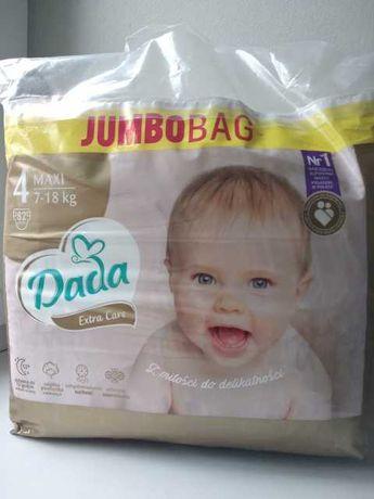 Памперси, підгузки Dada extra care 3 4 шт jumbo bag  Польща