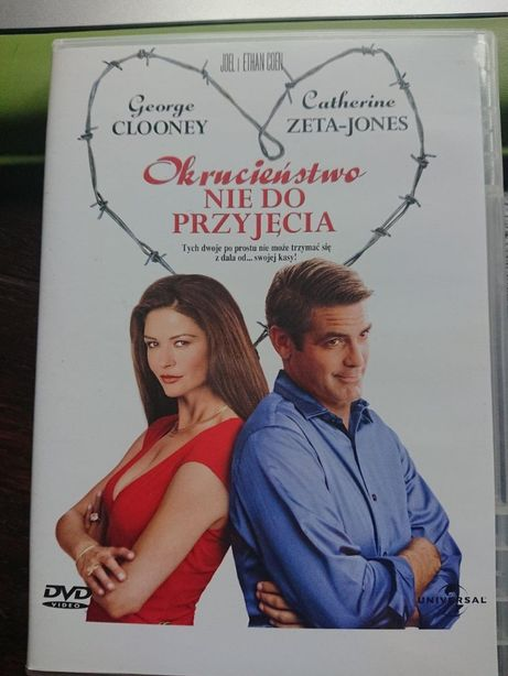 George Clooney w filmie Okrucieństwo nie do przyjęcia na dvd