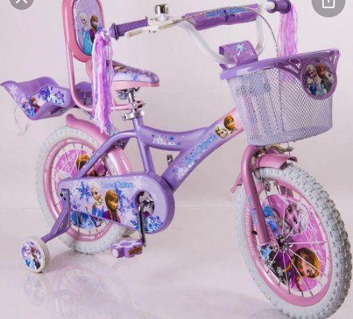 Продам велосипед 6-12 лет холодное сердце