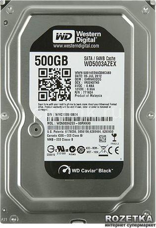 Жесткий диск WD Black 500 GB