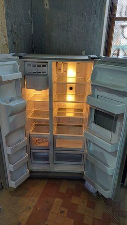 Б/У-СТОК Side-by-side Холодильник ДВОКАМЕРНИЙ Европа Гарантія (Склад)