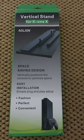 Base vertical Xbox one x em caixa nova consola microsoft