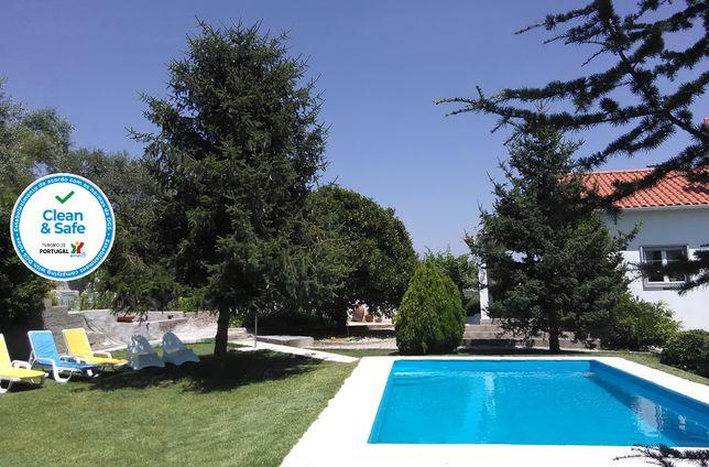 Casa da Gardunha com piscina privada