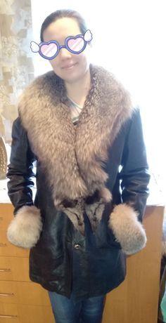 Курточка с чернобуркой