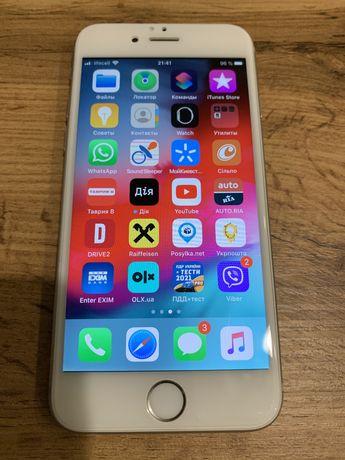 Iphone 6s 64гб silver в идеальном состоянии