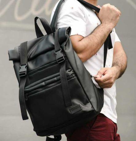 Стильный мужской рюкзак роллтоп Rolltop городской рюкзак