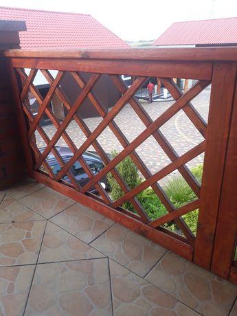 Ogrodzenie tarasowe