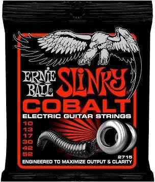 Struny do gitary elektrycznej ERNIE BALL (10-52) COBALT STHB SLINKY dr