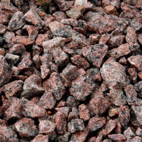 Czerwony grys granitowy Vanga HURT - Kamień ozdobny - 335/t netto
