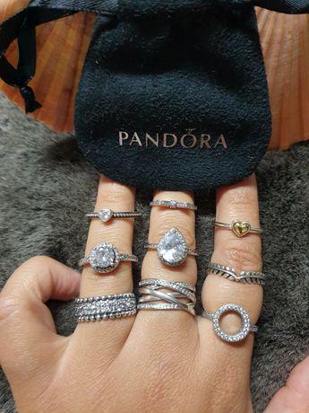 """NOVIDADE: Anéis em prata S925 e zirconias """"PANDORA"""""""