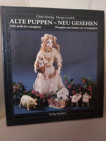 Książka stare lalki Claire Henning