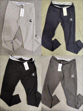 Spodnie Dresowe Calvin Klein Dresy Wyszywane Outlet Premium CK
