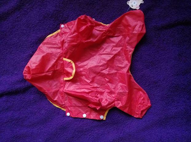 Kurtka ortalionowa przeciwdeszczowa dla małego psa