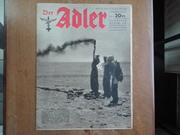 Der Adler 1942 wojna na pustyni budowa Junkers 88 Condor asy Luftwaffe