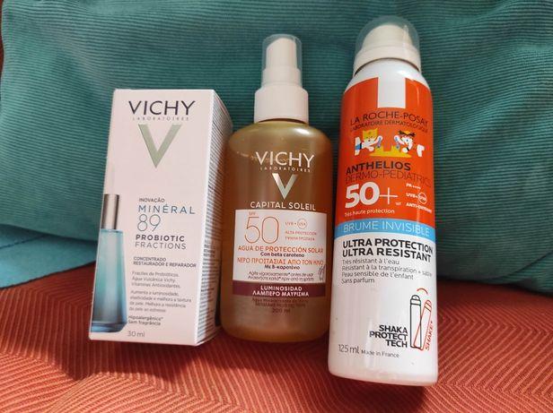 Dermocosmética Vichy e La Roche Posay