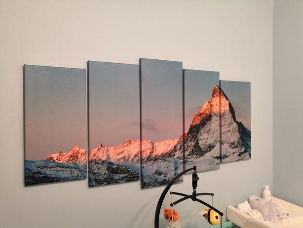 Obraz Góry Matterhorn 150x80cm (5*30)