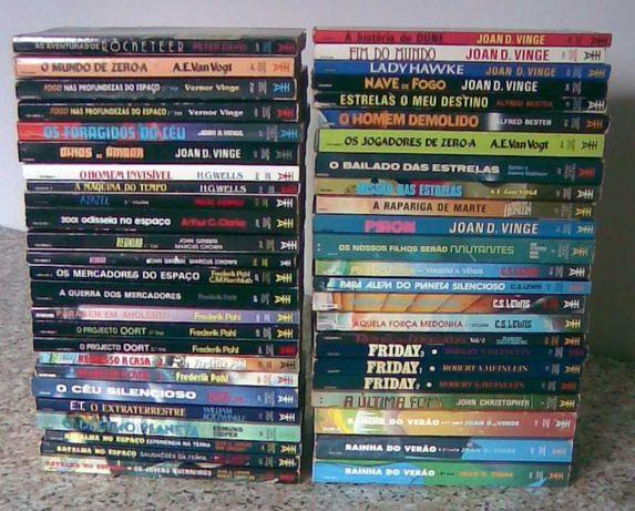 86 livros de bolso Europa-América - Ficção Científica