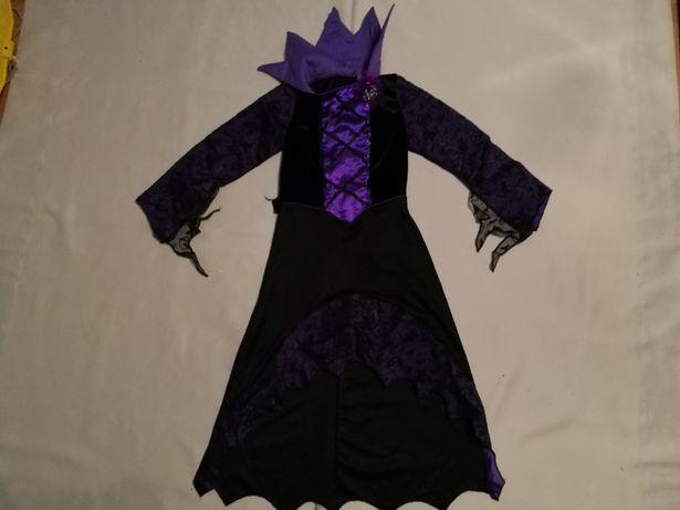 Sukienka wampira, wampir, wampirzyca Halloween roz 116-128 cm(6-8lat)
