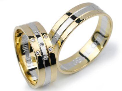 Złote Obrączki Ślubne Lux 031 GOLDRUN CHORZÓW