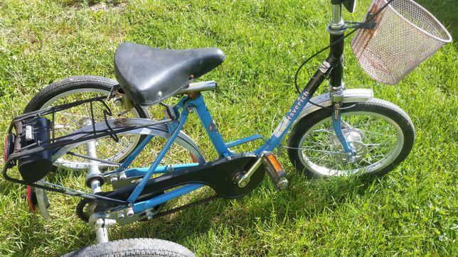 Niemiecki Rower Dzieciecy Rehabilatycyjny Hawerich 3 kolowy 16cali