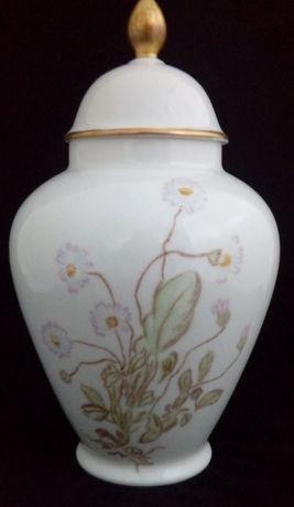 Seltmann porcelanowa amfora w kwiaty