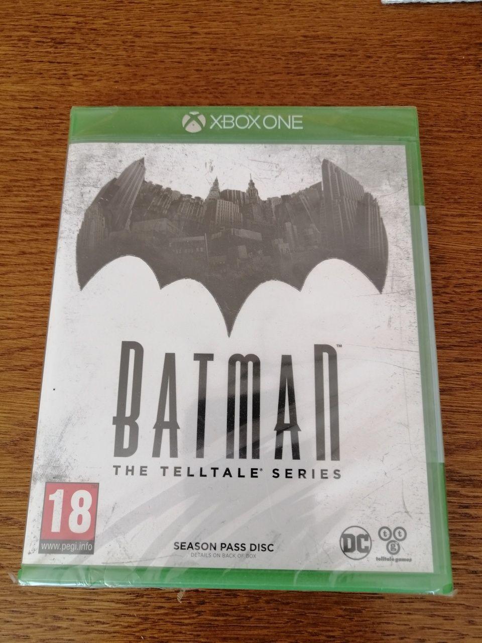 Batman the telltale series Xbox one nowa folia