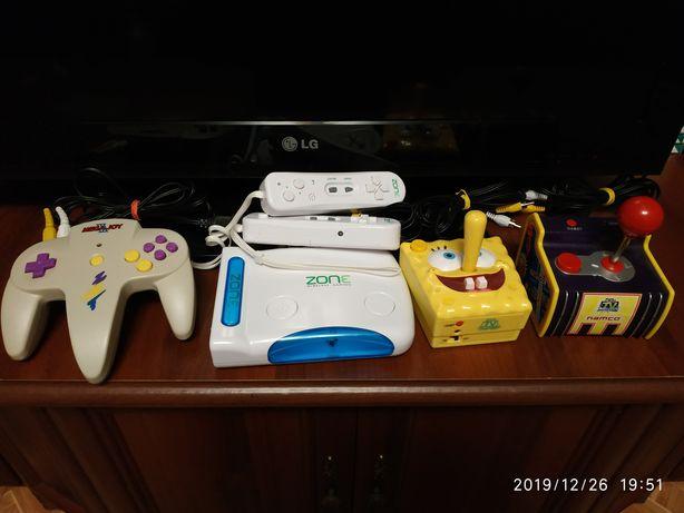 Ретро игровая приставка Mega Joy3, Namco, Zone