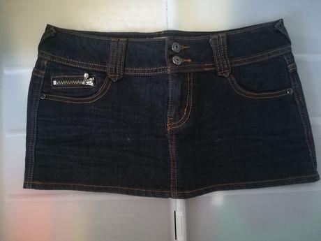 Mini saia de ganga da Miss Nana - 38