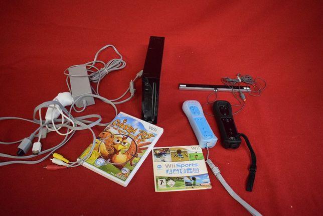 Consola Wii com Jogos e mais acessorios