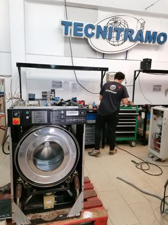 Máquina de lavandaria Máquinas de lavar e secar roupa industrial ocasi