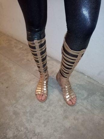 Sandália gladiadora piccadilly tamanho 36