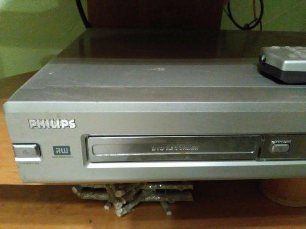 Odtwarzacz / nagrywarka PHILIPS DVDR75 / 001 z pylotem