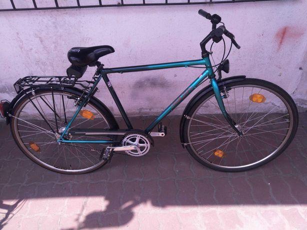 Rower miejski Cresta 55cm, koła 28', 7 biegów w piaście, chromo