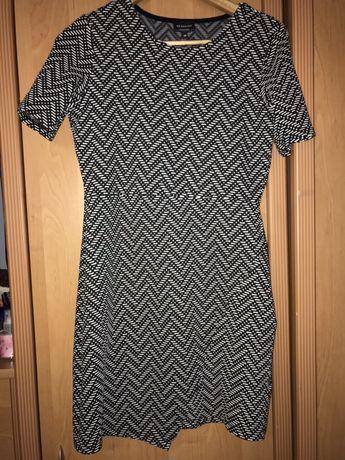 Sukienka we wzorki, Reserved, M